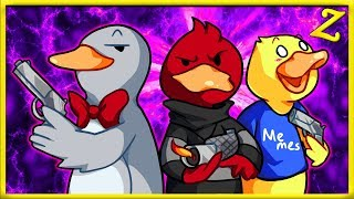DUCK GAME II:  DUCK OFF!! (Ft. YourPalRoss & TimDotTV)
