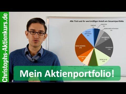 Mein reales Aktienportfolio - alle Positionen, Renditen, Branchenverteilung etc. (Stand 20.12.2017)