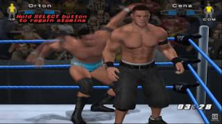 WWE SmackDown! vs. Raw 2006 PS2 Gameplay HD
