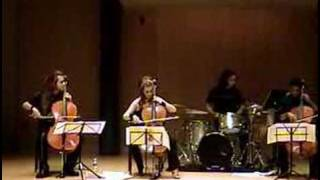 "6. Apocalyptica's ""Cortege"" performed by Primitivity"