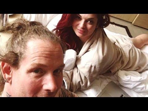 None - Corey Taylor Pops The Question To His Girlfriend Alicia Dove