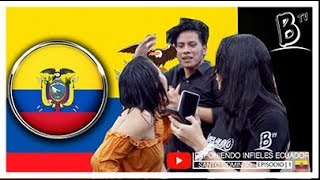 EXPONIENDO INFIELES SANTO DOMINGO 🇪🇨 | ECUADOR | SE ACOSTÓ CON SU EX 👉 🔥 👌