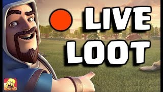🔴 LIVE INSANE LOOT IN COC HISTORY 😎 || Clash Of Clans LIVE