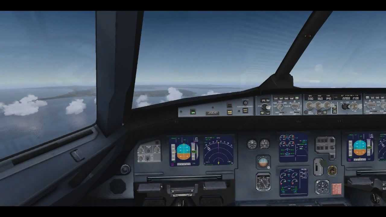 FSX very real default cockpit upgrade texture for airbus