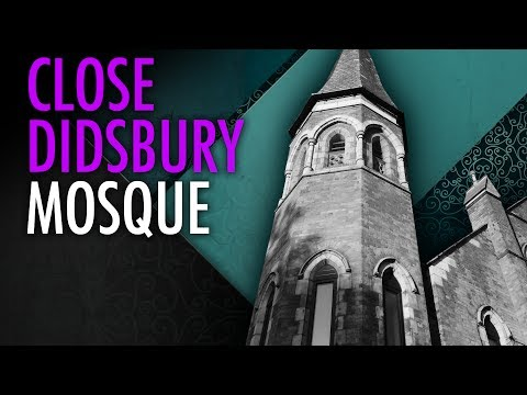 Tommy Robinson: Close the Didsbury Mosque in Manchester