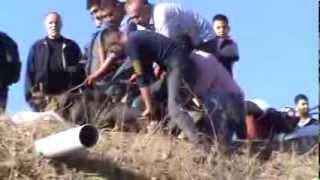 Kurban Kesimi 2013  KKB  35  Slaughter sheep women kill