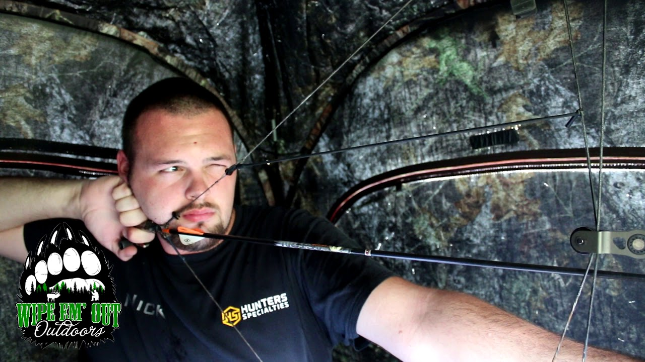 Will Shooting Through Ground Blind Mesh Affect Accuracy Youtube