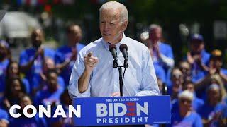 Joe Biden's Other Stunning Campaign Promises - CONAN on TBS