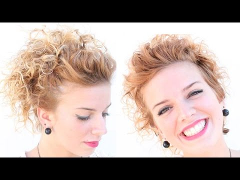 Acconciatura Per Capelli Corti Ricci Beautydea Youtube