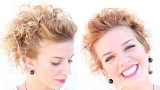 Acconciatura per capelli Corti ricci | Beautydea