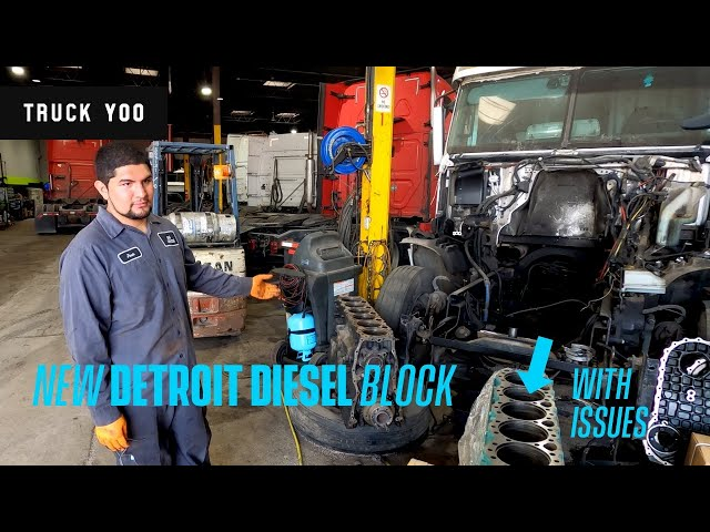 Our New Detroit Diesel block has issues. Should we send it back?