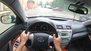 2008 Toyota Camry 2.4L (167) POV TEST DRIVE
