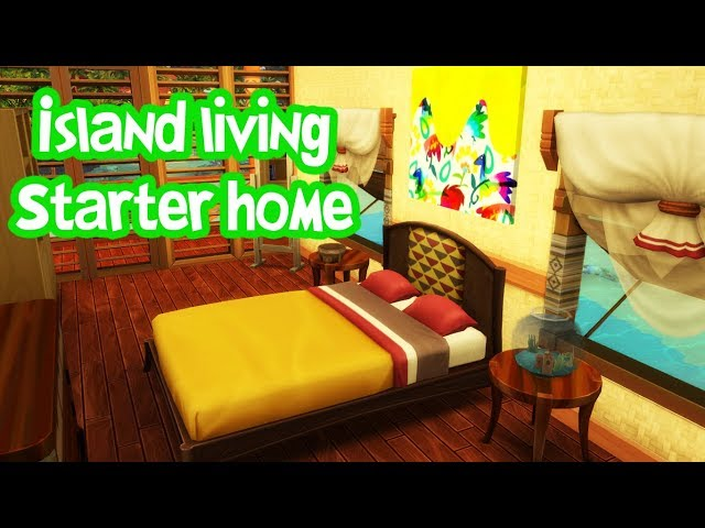 Island Living - Starter Home | The Sims 4 Speed Build