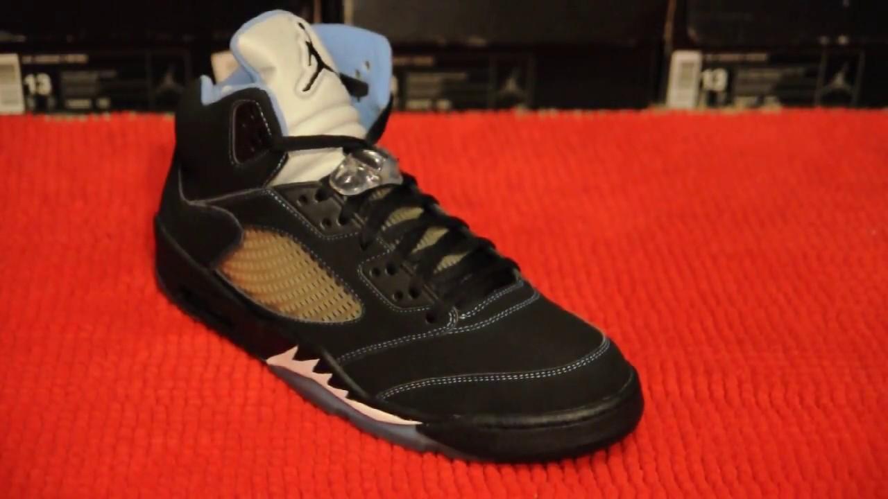 2006 Air Jordan 5 (V) Retro LS ''UNC