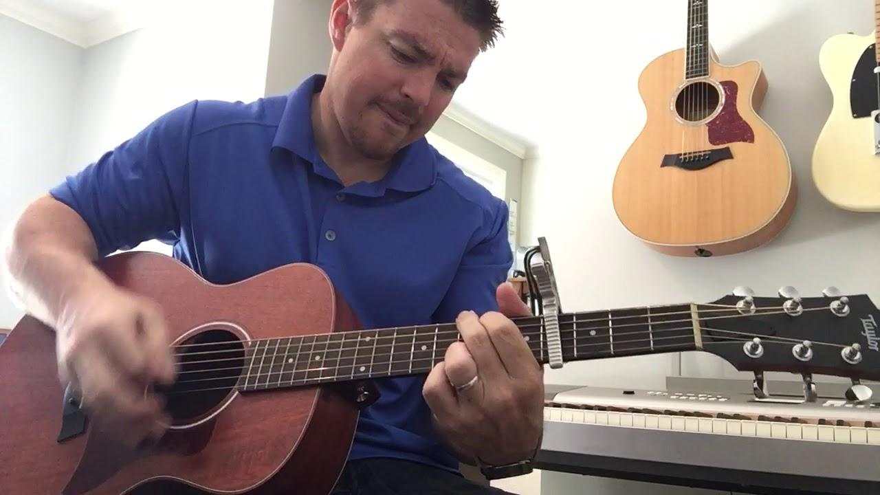 All The Pretty Girls Kenny Chesney Beginner Guitar Lesson Youtube