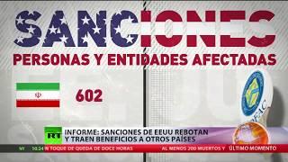 Informe: Sanciones de EE.UU. rebotan y traen beneficios a otros países