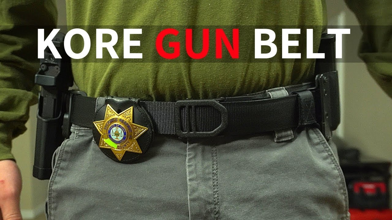 Kore Essentials X1 / After you get your holster, keep your pants up with kore essentials gun belts and save 10$ per belt with the discount code hegshot87.