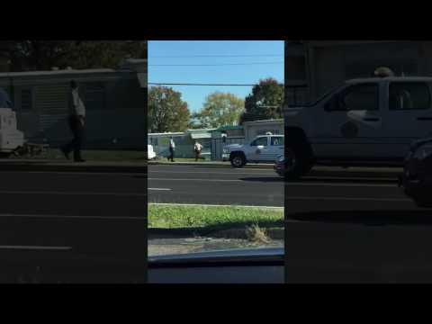Heavy police response near Mo. elementary school