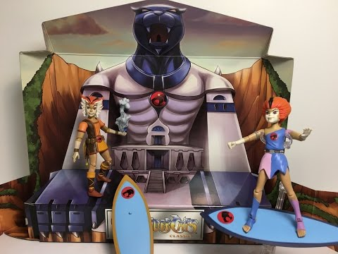 2016 SDCC Exclusive Thundercats: MattyCollector WilyKit and WilyKat Two Pack