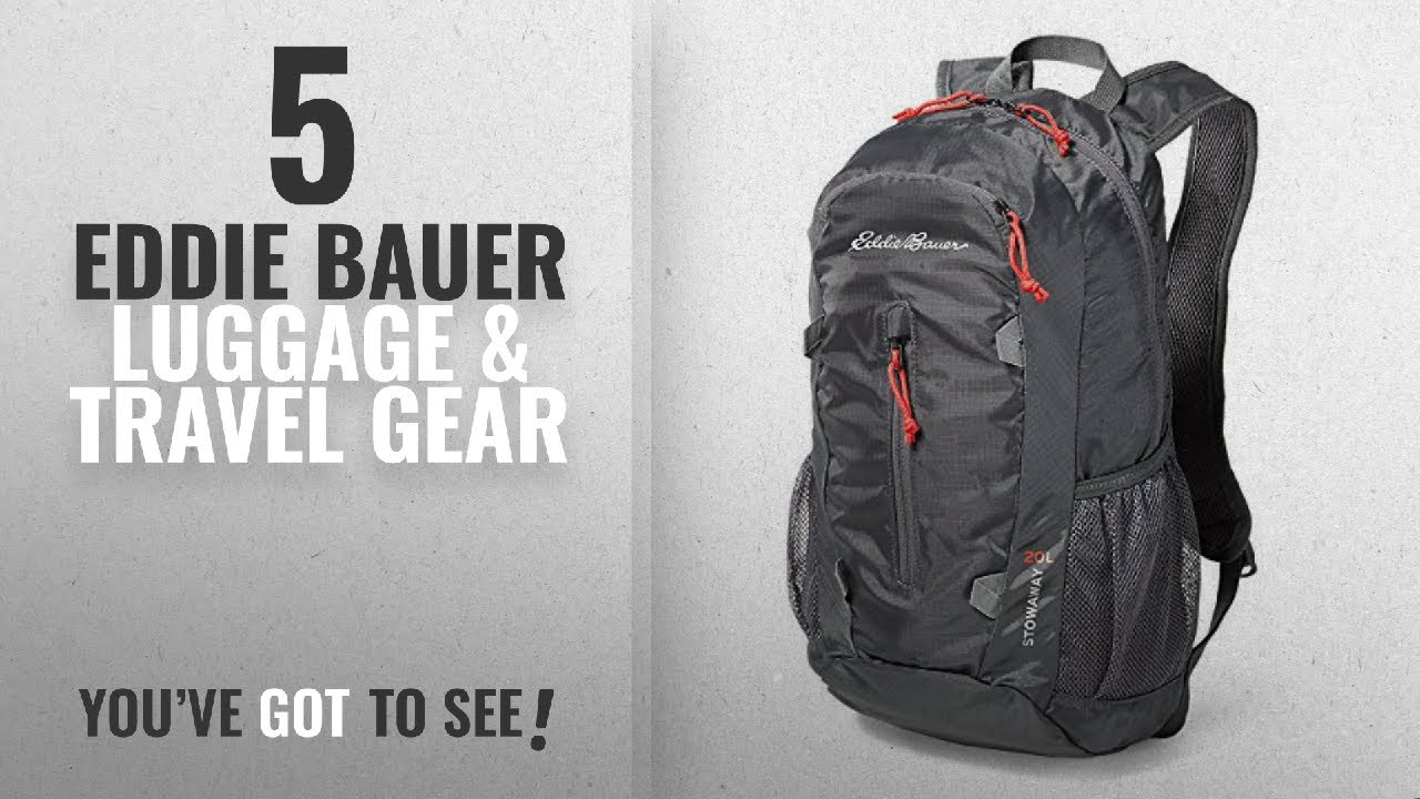 68effb6ae6 Top 10 Eddie Bauer Luggage   Travel Gear  2018   Eddie Bauer Unisex-Adult  Stowaway Packable 20L