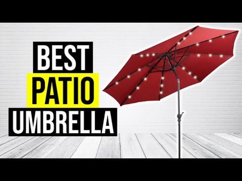 BEST PATIO UMBRELLA 2020 Top 5