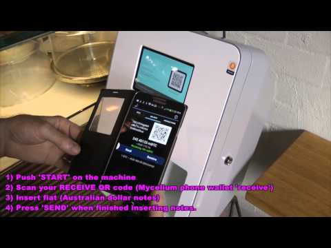 Bitcoin ATM, Black Star Pastry, Rosebery, Sydney, Australia (Vending Machine, BTM)