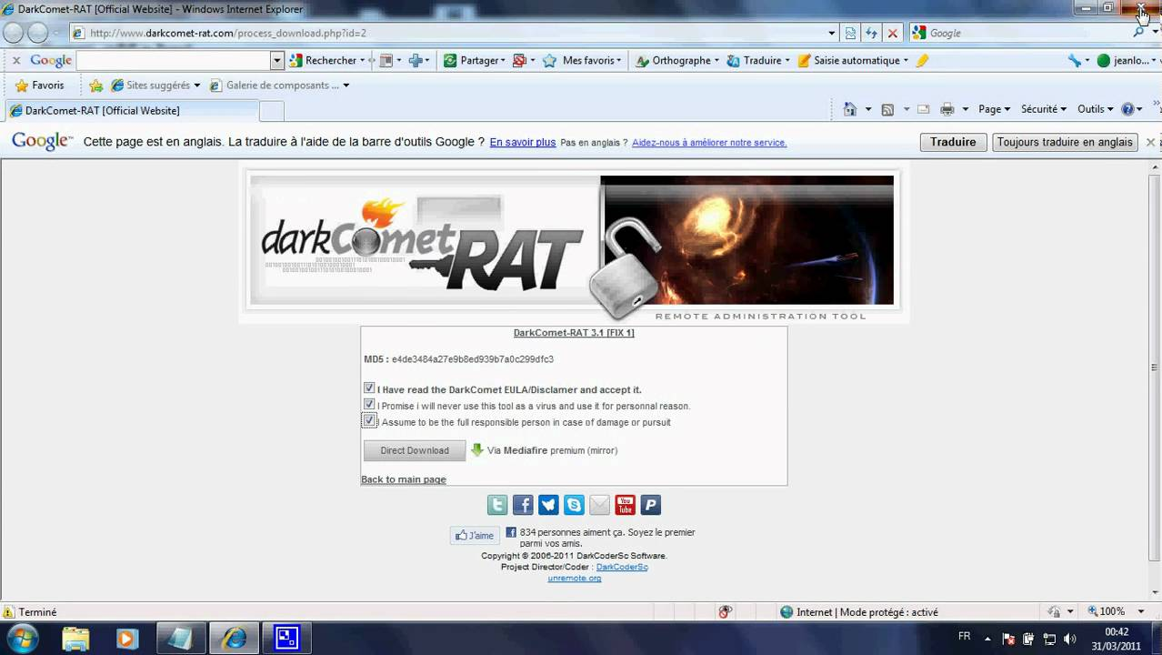 darkcomet rat 3.0.1