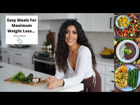 Meals For Maximum Weight Loss // The Starch Solution //Plant Based Ep 14