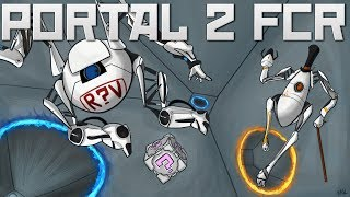 Portal 2 Fan Chamber Reviews! Soaring Puzzles, Supreme timing and Three Strikes!