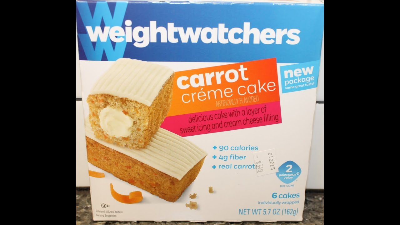 Weight Watchers Carrot Creme Cake