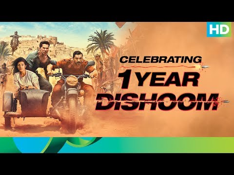Dishoom Action Comedy Film | Celebrating 1 Year | John Abraham, Varun Dhawan & Jacqueline Fernandez