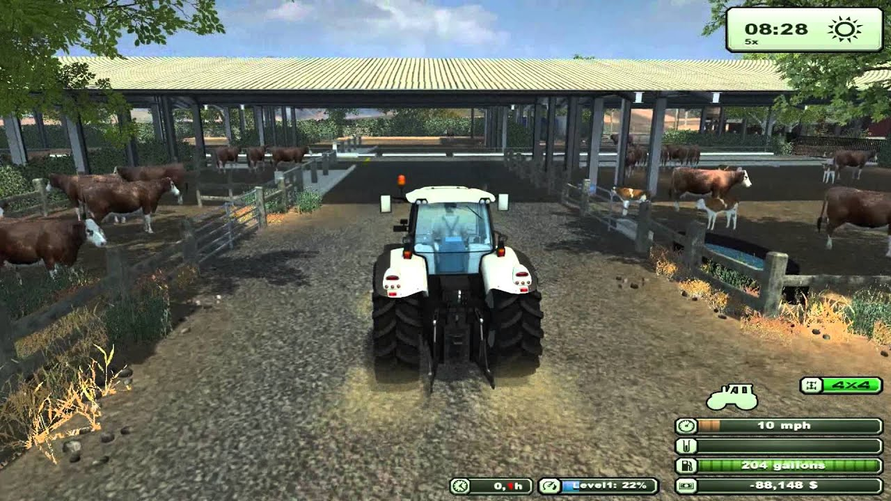 Farming Simulator New Map USA A Lot Of Great Detail Check - Usa map in detail