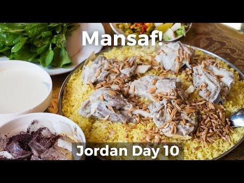 Mansaf (منسف) - The Ultimate Jordanian Food
