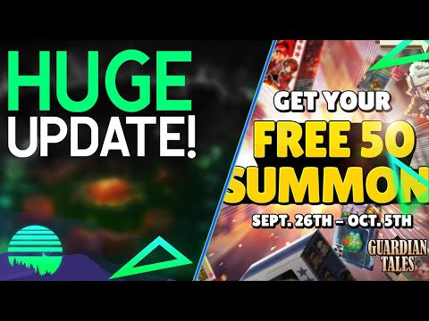50 FREE SUMMONS + COUPON CODE! - Guardian Tales