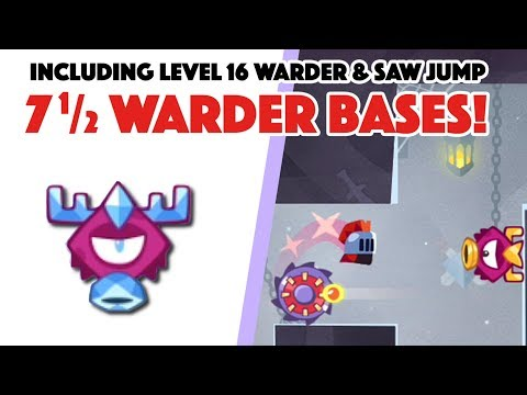 King of Thieves - 7 1/2 NEW WARDER layouts!