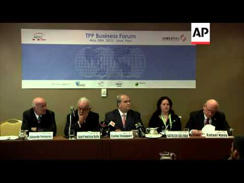 Business leaders call on negotiations on TPP Agreement to conclude by the end of the year