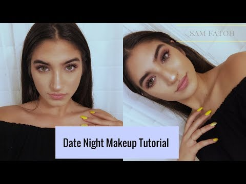 Date Night Makeup Tutorial | Carli Bybel Palette | Sam Fatoh thumbnail