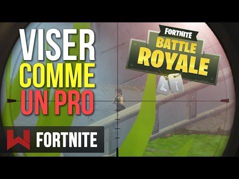 TUTO : VISER COMME UN PRO | Fortnite Battle Royale