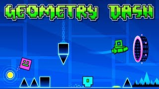 Геометрия Geometry Dash Умная игра про ФИГУРЫ Обзор Детское Видео Игровой Мультик Let's play