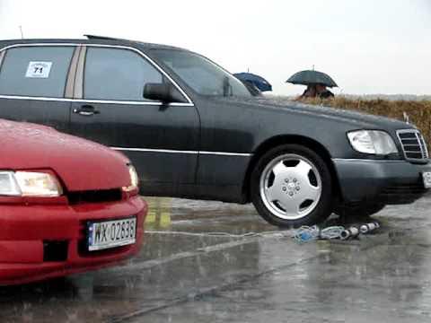 Spec Opel Astra Gsi C20xe Vs Mercedes S600 V12 W140 Youtube