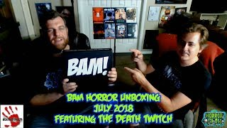 BAM Horror Box Unboxing - July 2018 - The Horror Show