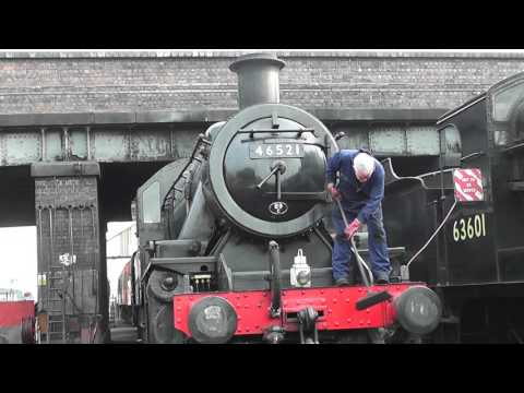 A Day in the Life of a Steam Locomotive Fireman.