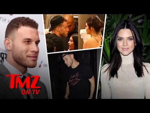 Blake Griffin and Kendall Jenner Leave The Club Together | TMZ TV