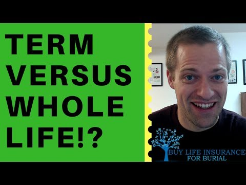 What's The Difference Between Term Life And Whole Life Insurance?