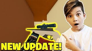 *NEW* SNIPER UPDATE IN PHANTOM FORCES!!! ROBLOX