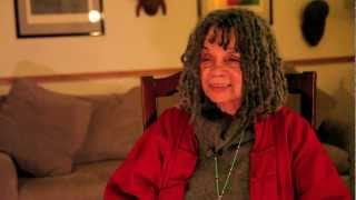 Sonia Sanchez on what happens in a Peace museum...