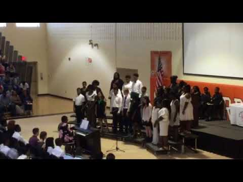 Longleaf Middle School Graduation Chorus- Rise Up