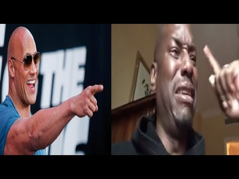 Tyrese GOES OFF on The Rock AGAIN then Breaks down CRYING after threatening to quit 'Fast & Furious'