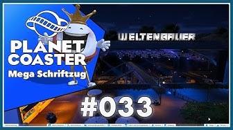 GAME ON: PLANET COASTER #033 🎢 Mega Schriftzug