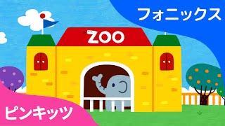 The Phonics Zoo | ABCフォニックスの歌 | ピンキッツ英語童謡